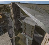 Figure 1: Virtual Reality environment for height simulation